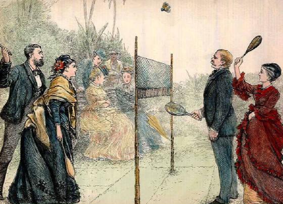 Lords et Ladies britanniques se payant une bonne tranche de LOL dans les jardins du club échangiste.