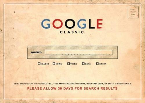 Google avant le minitel mondial.