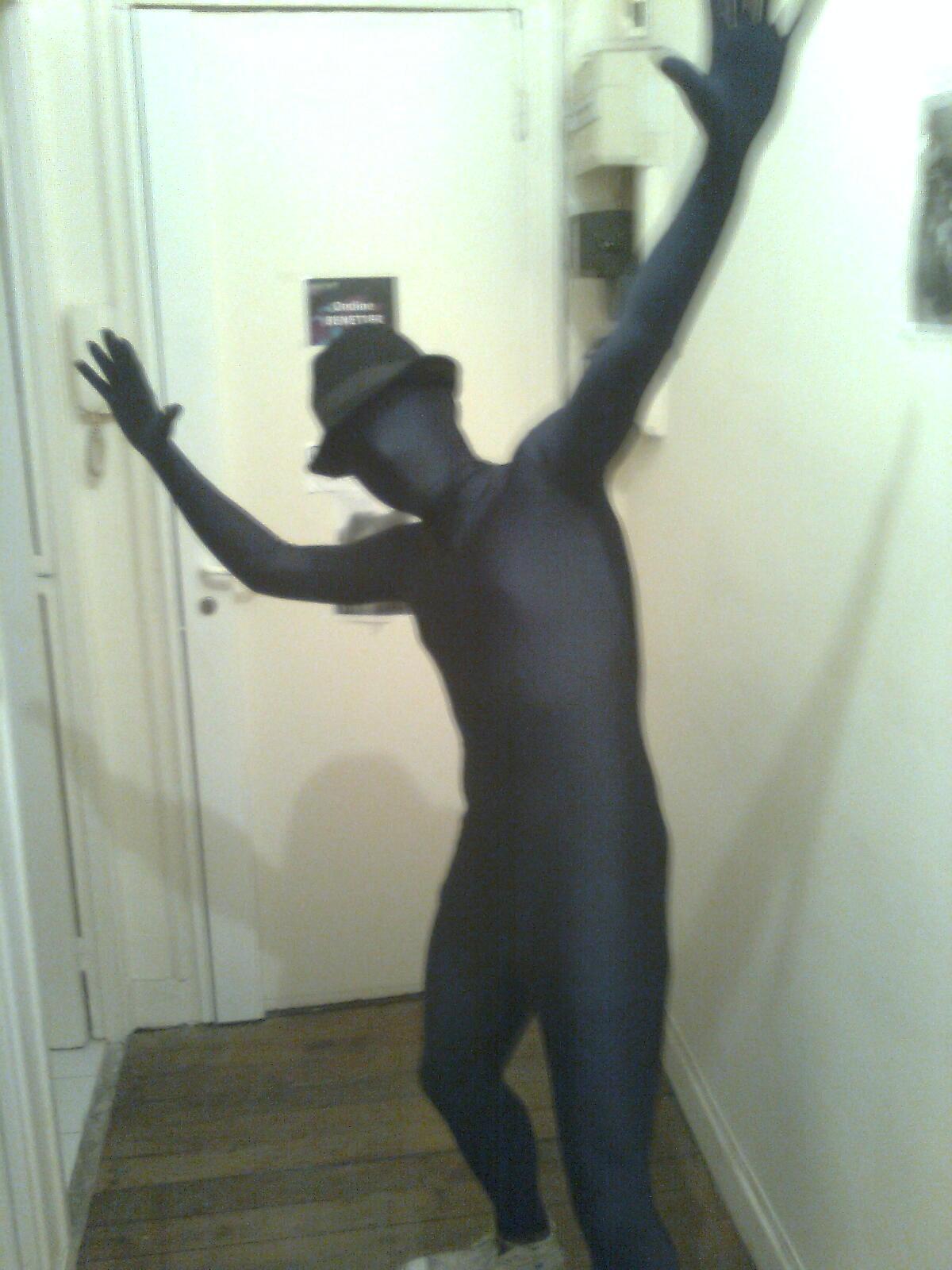 déguisement homme invisible
