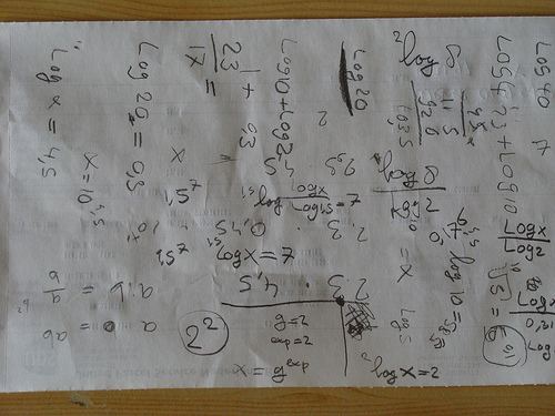 Les maths, cette monstruosité.