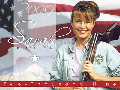 Sarah Palin fut parfois coiffée comme un tromblon.