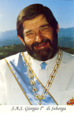 Son Altesse Giorgio Ier, prince de Seborga